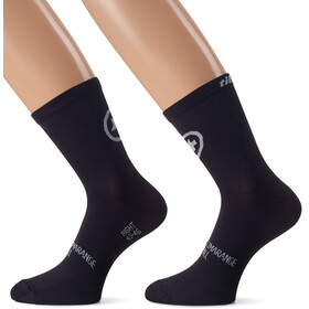 assos tiburuSocks_Evo8 Unisex Twin Pack blackSeries